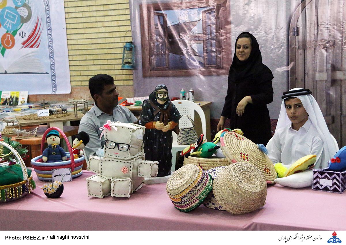 نمایشگاه صنایع دستی عسلویه 6