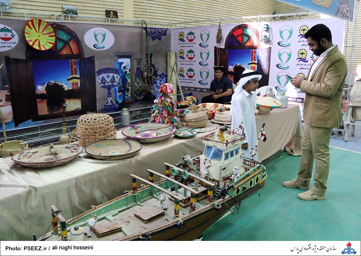 نمایشگاه صنایع دستی عسلویه 7