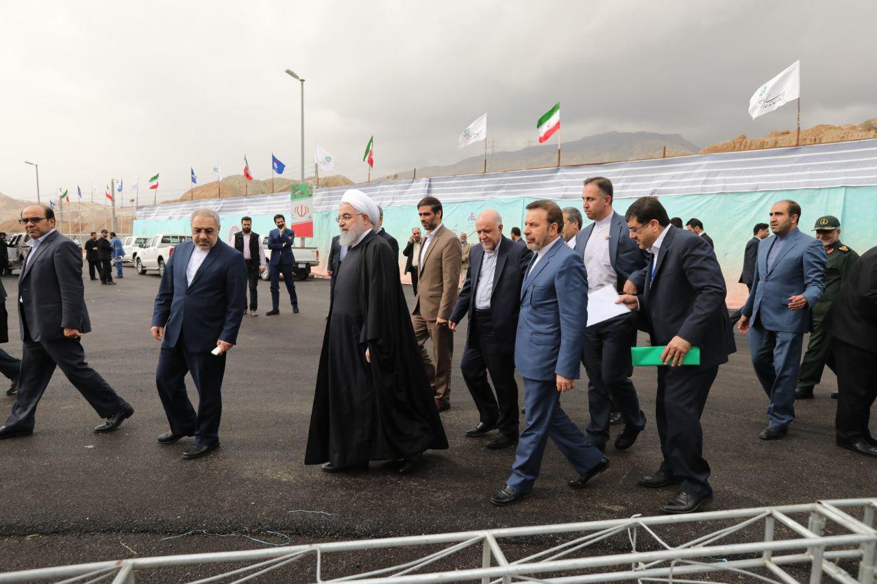 افتتاح فاز های جدید پارس جنوبی 2