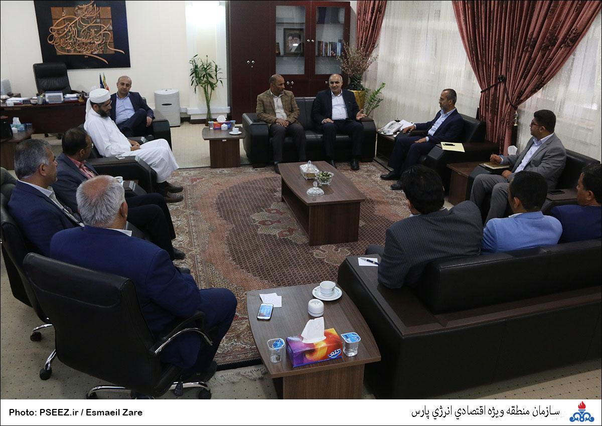 دیدار مدیرعامل و شورای شهر نخل تقی 4