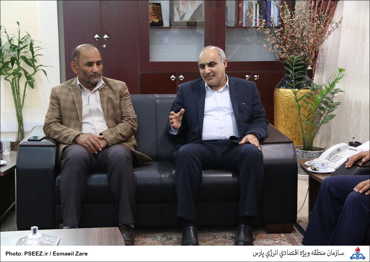 دیدار مدیرعامل و شورای شهر نخل تقی 5