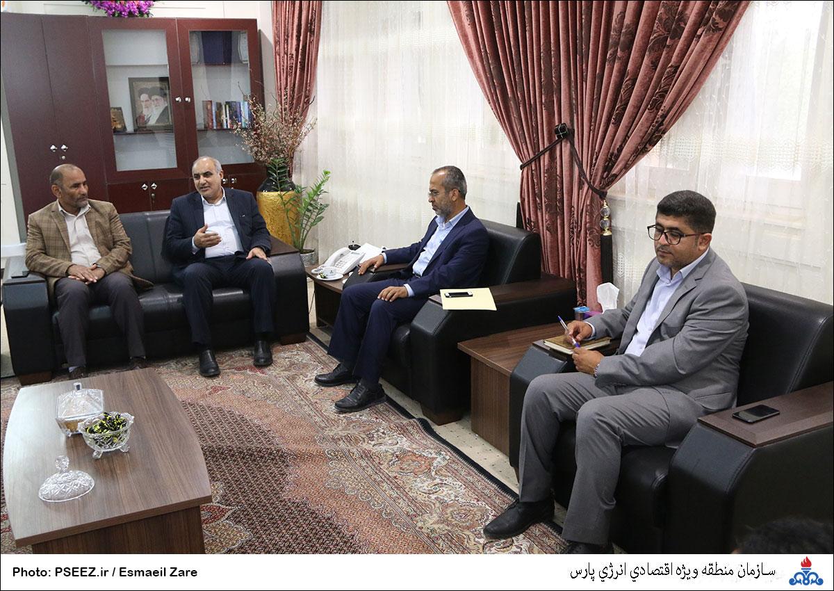 دیدار مدیرعامل و شورای شهر نخل تقی 6