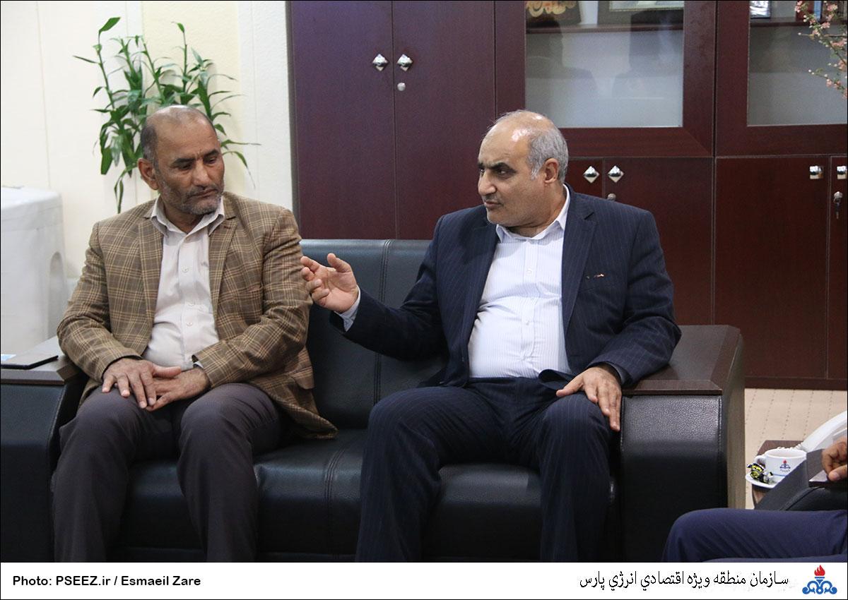 دیدار مدیرعامل و شورای شهر نخل تقی 8