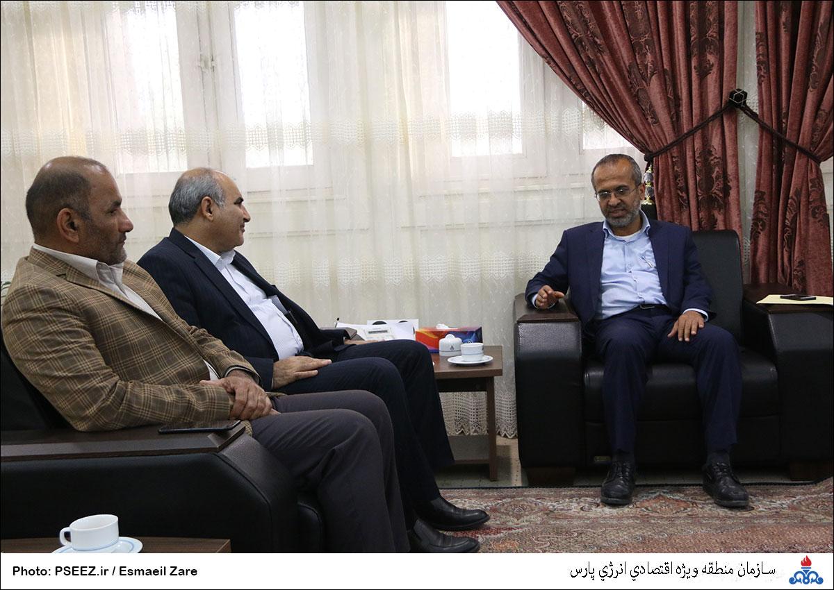 دیدار مدیرعامل و شورای شهر نخل تقی 11