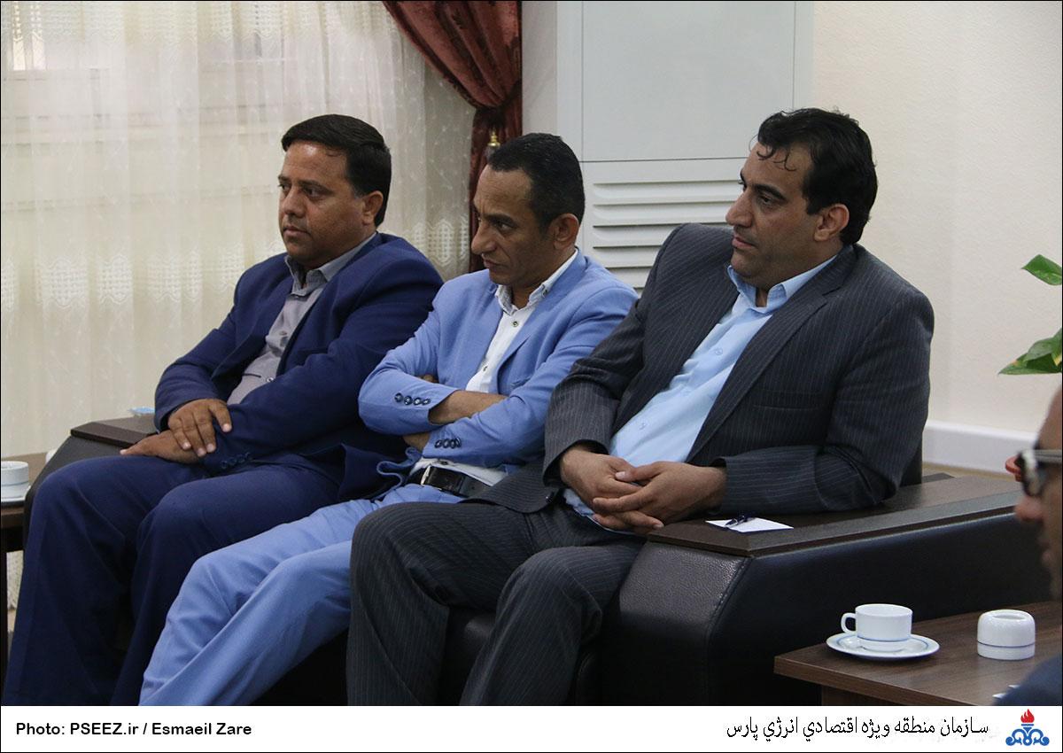 دیدار مدیرعامل و شورای شهر نخل تقی 12