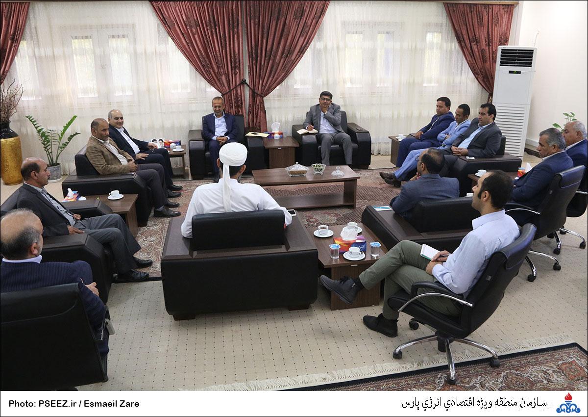 دیدار مدیرعامل و شورای شهر نخل تقی 13