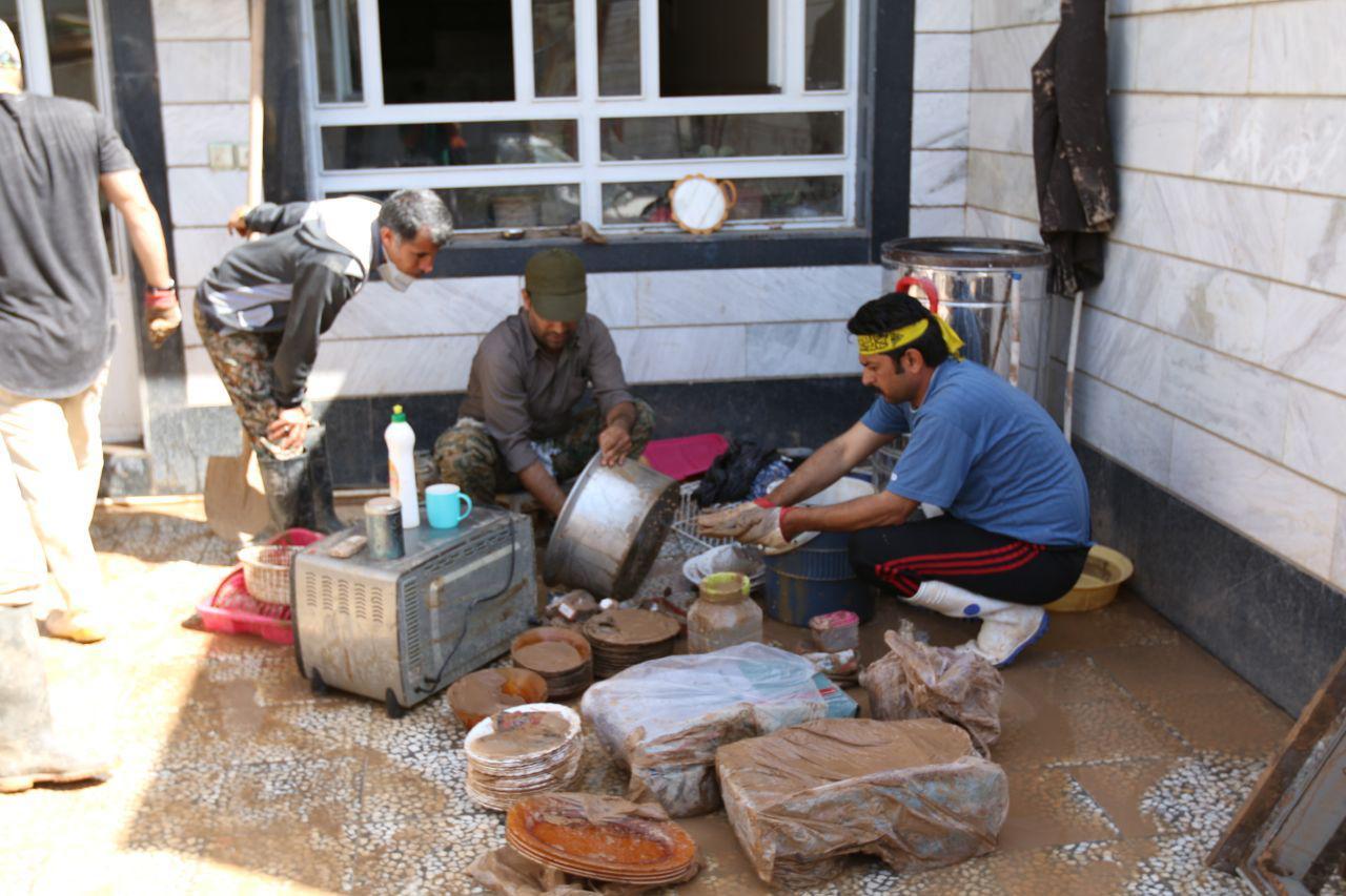 اردوی جهادی سازمان منطقه ویژه در پلدختر 2