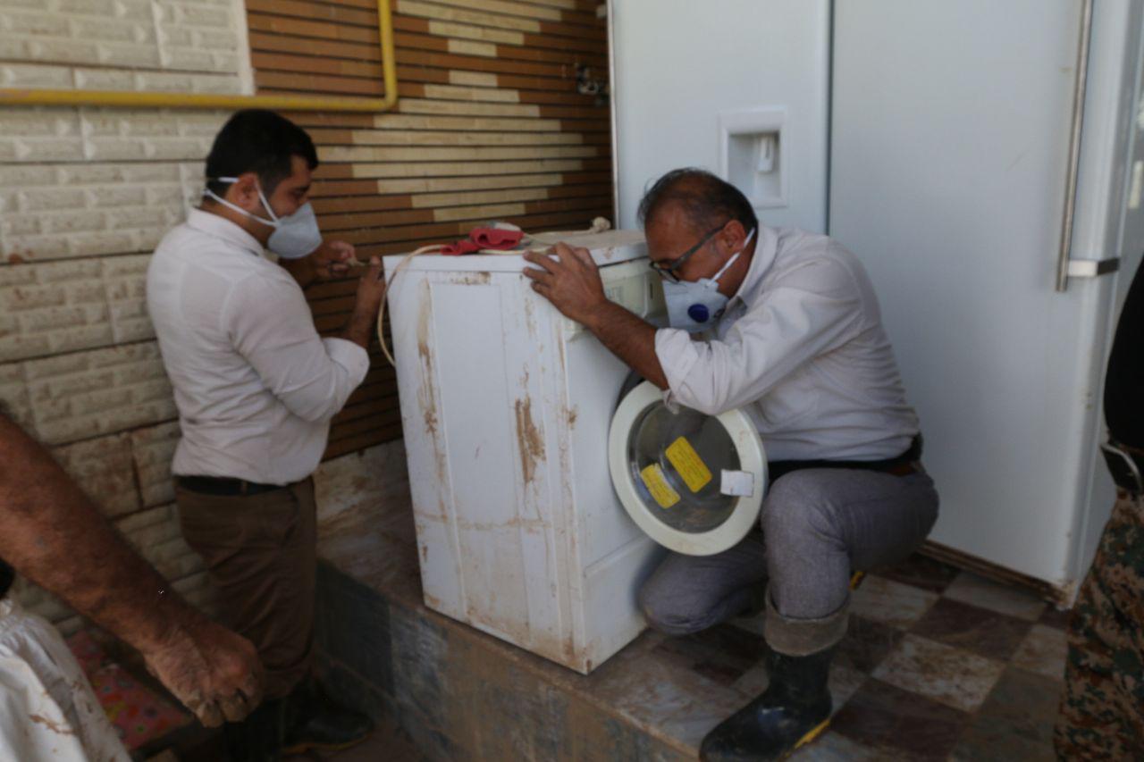 اردوی جهادی سازمان منطقه ویژه در پلدختر 4