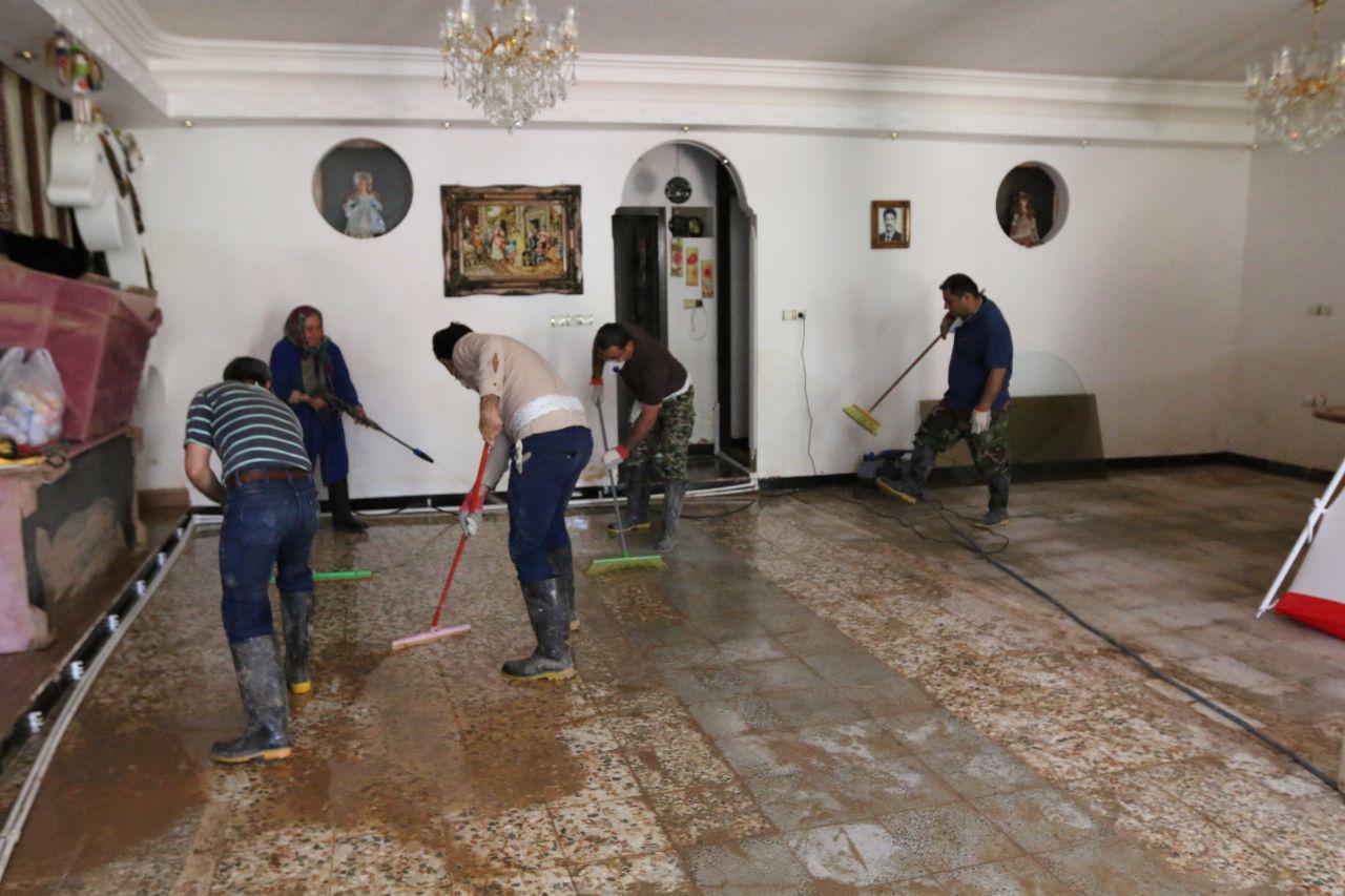 اردوی جهادی سازمان منطقه ویژه در پلدختر 5