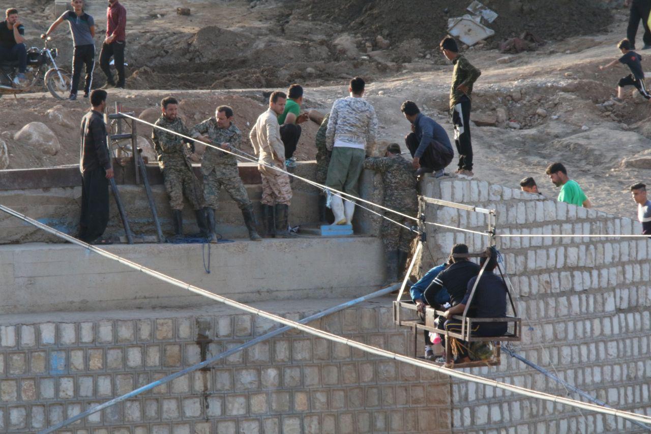 اردوی جهادی سازمان منطقه ویژه در پلدختر 8