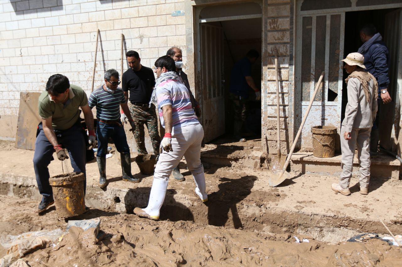 اردوی جهادی سازمان منطقه ویژه در پلدختر 16